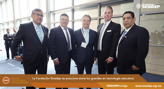 La Fundación Sinadep se posiciona entre los grandes en tecnología educativa