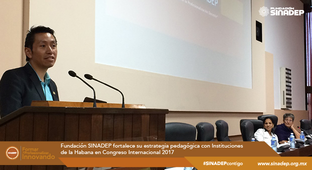 Fundación SINADEP fortalece su estrategia pedagógica con Instituciones de la Habana en Congreso Internacional 2017