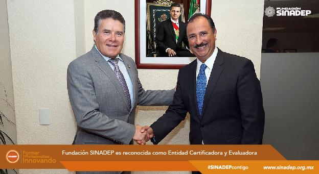 Fundación SINADEP es reconocida como Entidad Certificadora y Evaluadora