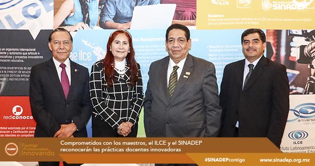 Comprometidos con los maestros, el ILCE y el SINADEP reconocerán las prácticas docentes innovadoras