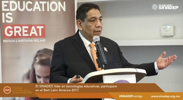El SINADEP, líder en tecnologías educativas, participará en el Bett Latin America 2017