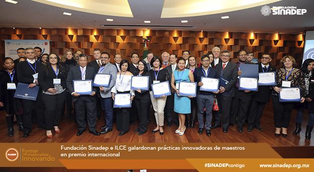 Fundación Sinadep e ILCE galardonan prácticas innovadoras de maestros en premio internacional