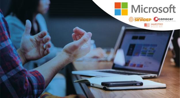 El Sinadep capacita a maestros en TIC; lanza pilotaje de 500 certificaciones Microsoft