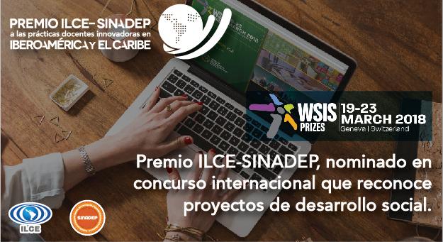 Premio ILCE-SINADEP, nominado en concurso internacional que reconoce proyectos de desarrollo social